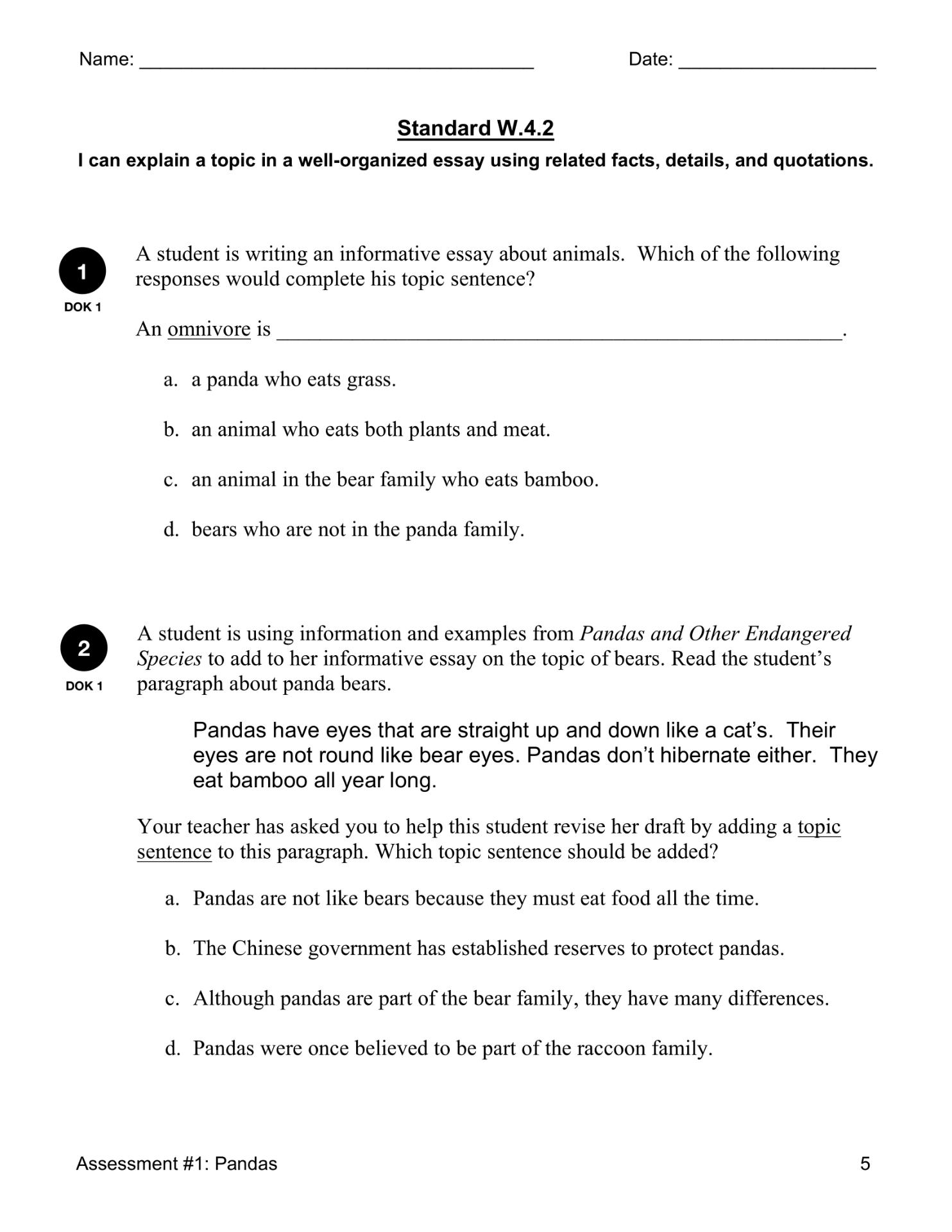 W 4 2 Explanatory Writing