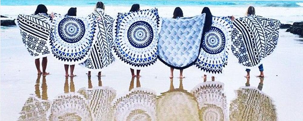 Beach Towel Trend Alert: Round Towels