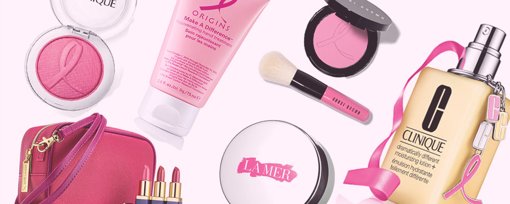 Beauty Products to Support Breast Cancer Awareness Month