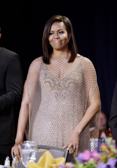 First Lady Michelle Obama - At the final White House Correspondents' Dinner