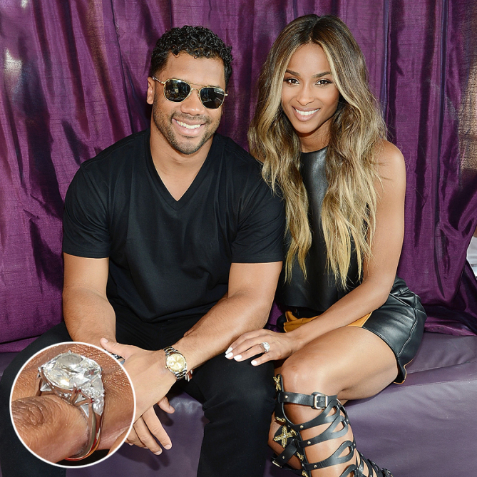 Best Celebrity Engagement Rings - Ciara