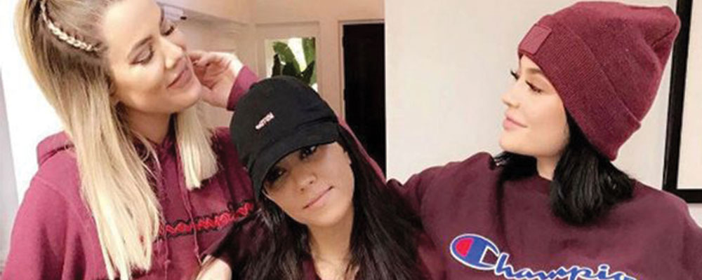 Burgundy Color Pieces To Copy Kylie, Khloe and Kourtney's Look