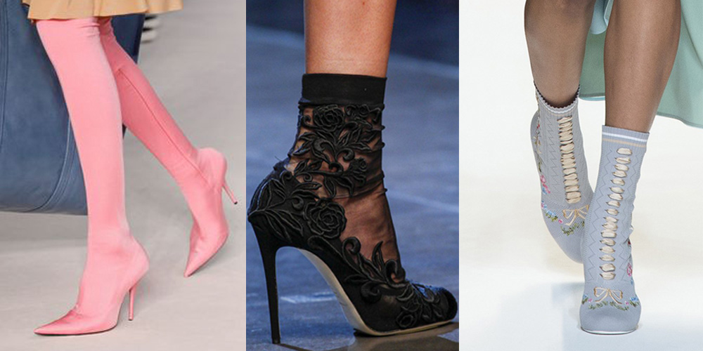 Spring/Summer Shoe Trends 2017: Sock Boots