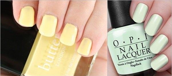 Summer Nail Color- Pastel