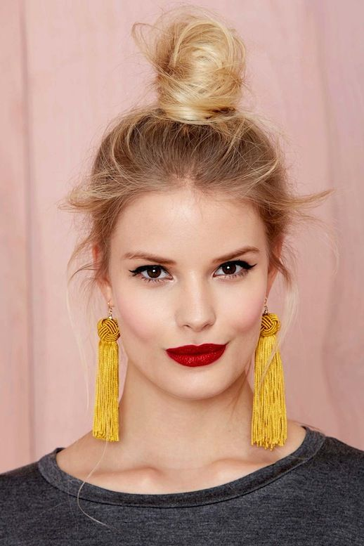 Hair tips - Top Knot