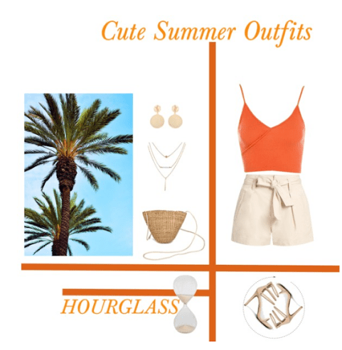 Cute Summer Outfits-Hourglass Body Type