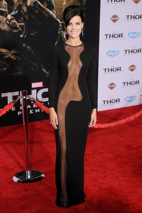 Naked Dress Trend - Jamie Alexander Thor in 2013