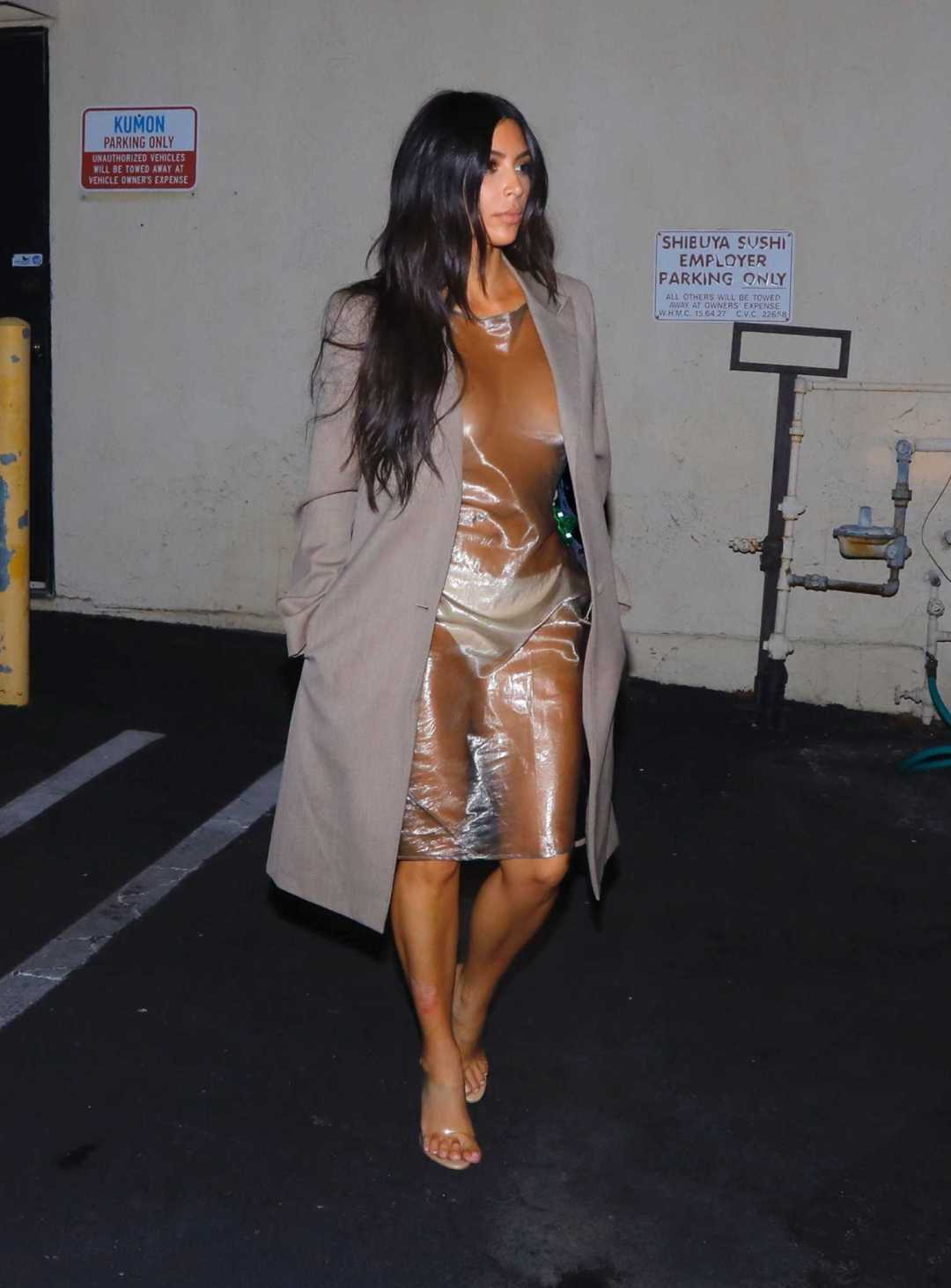 Naked Dress Trend - Kim Kardashian West