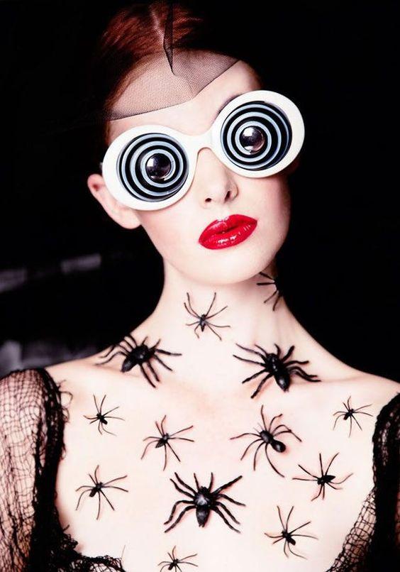 Creepy-Crawly Spider Halloween Makeup Ideas