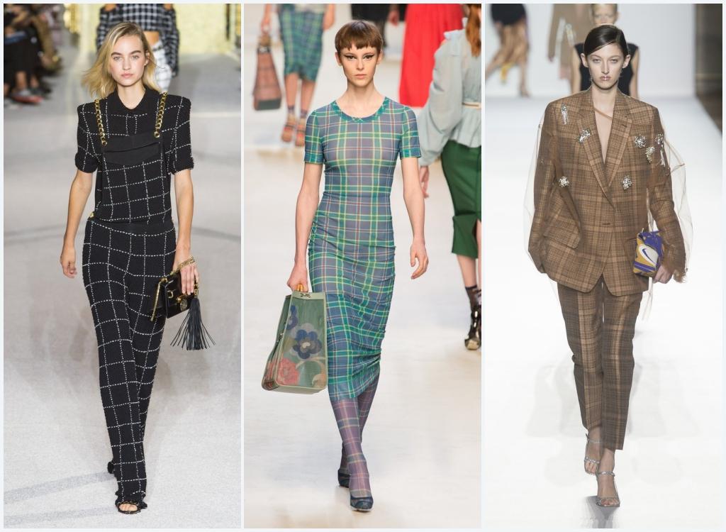 Spring/Summer Fashion Trends 2018 - Plaids And Checks