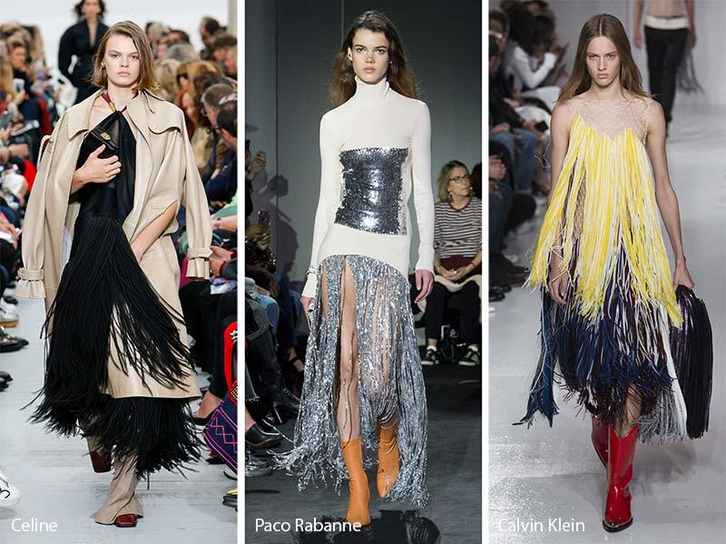 Spring/Summer Fashion Trends 2018 - Fringes
