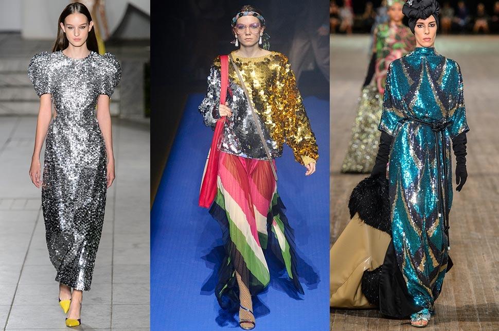 Spring/Summer Fashion Trends 2018 - Sequins