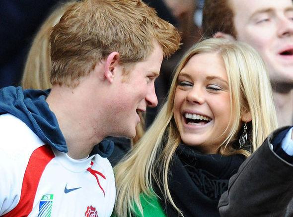 Prince Harry's girlfriend : Chelsy Davy