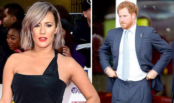 Prince Harry's girlfriend : Caroline Flack