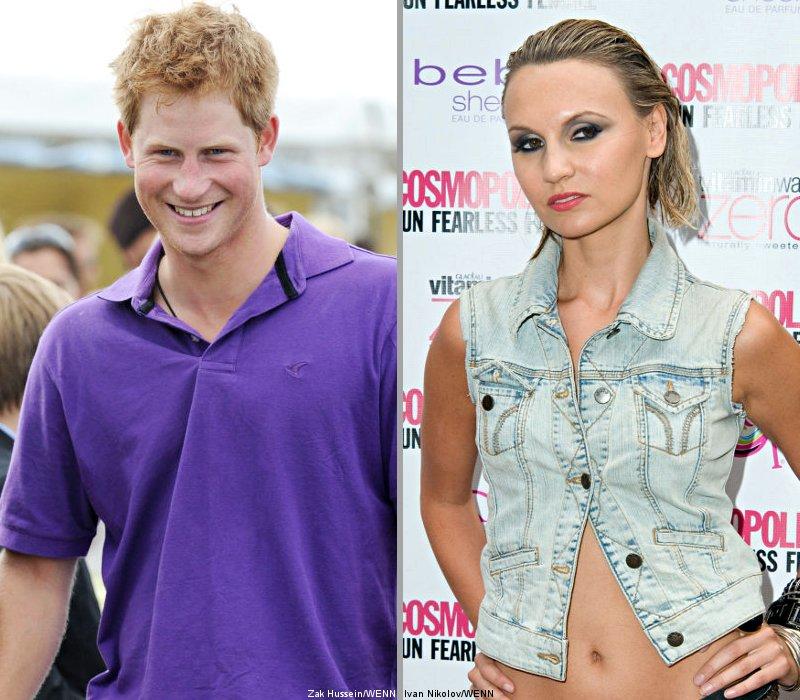 Prince Harry's girlfriend : Camila Romestrand