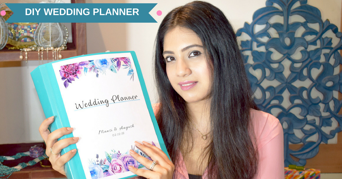 How To Plan A Wedding: DIY Wedding Planning Binder