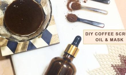 DIY Coffee Scrub, Oil & Mask | Natural Beauty Hack