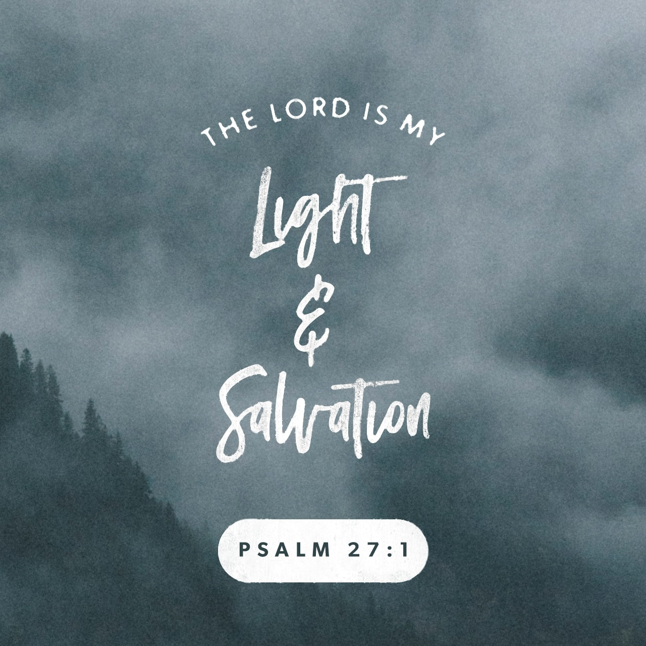 Psalm 271  Creative  Scripture Art  Free Church Resources from LifeChurch