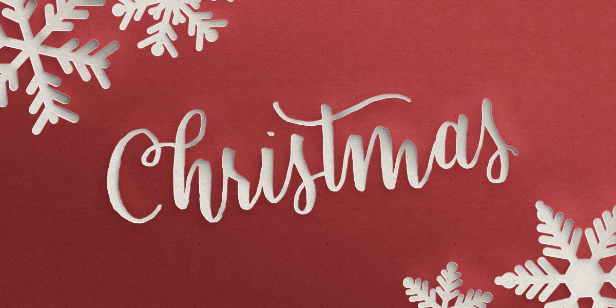 email header psd christmas