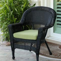 Black Resin Chairs Heart Shaped Chair 36 Quot Wicker Outdoor Patio Garden With