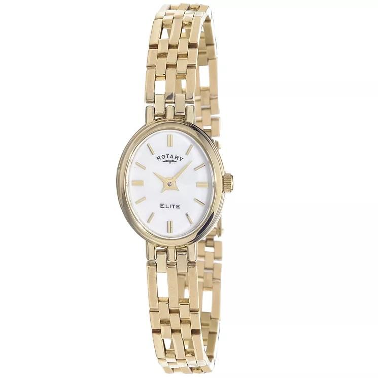Rotary Ladies 9ct Gold Bracelet Watch Ernest Jones