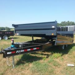 Dump Trailers For Sale Fuller 13 Speed Transmission Diagram Utility Flatbed And Cargo Trailer Sales In Indiana 14 Foot Pj Deckover