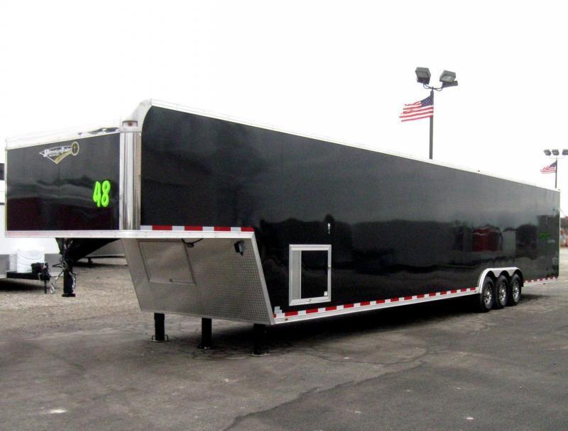 featherlite car trailer wiring diagram deh p6500 race toyskids co enclosed gooseneck living quarters stock 7 way plug horse