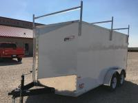 2017 RC 7'x14' Enclosed Cargo Trailer w/Roof Rack