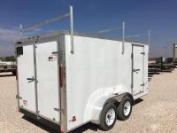 2017 RC 7'x14' Enclosed Cargo Trailer w/Roof Rack ...
