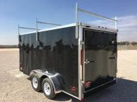 2017 RC 7'x14' Enclosed Cargo Trailer w/Roof Rack | Happy ...