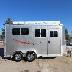 1996 Featherlite Horse Trailer Wiring Diagram 240v Photocell Used And Livestock Trailers 2005 9407 2hr Bp