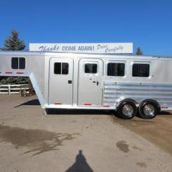 1996 Featherlite Horse Trailer Wiring Diagram B S Diagrams Used And Livestock Trailers 2017 8541 3hr Gn