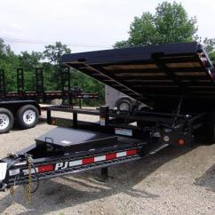 Dump Trailers For Sale Strat Super Switch Wiring Diagrams 2019 Pj T8 22 X 96 Deckover Tilt Flatbed Trailer W Winch Plate
