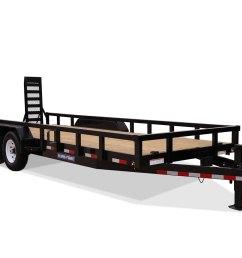 2019 sure trac 7 x 18 14k heavy duty equipment trailer 2020714 [ 1500 x 1001 Pixel ]