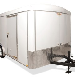 2020 h and h trailer 7x16 tandem rnd top hh vnose 7k cargo [ 1500 x 1000 Pixel ]