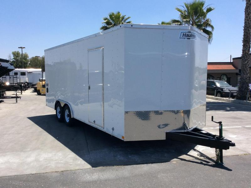 haulmark enclosed trailer wiring diagram receptacle 2018 passport 8 5 x 20 tandem axle cargo