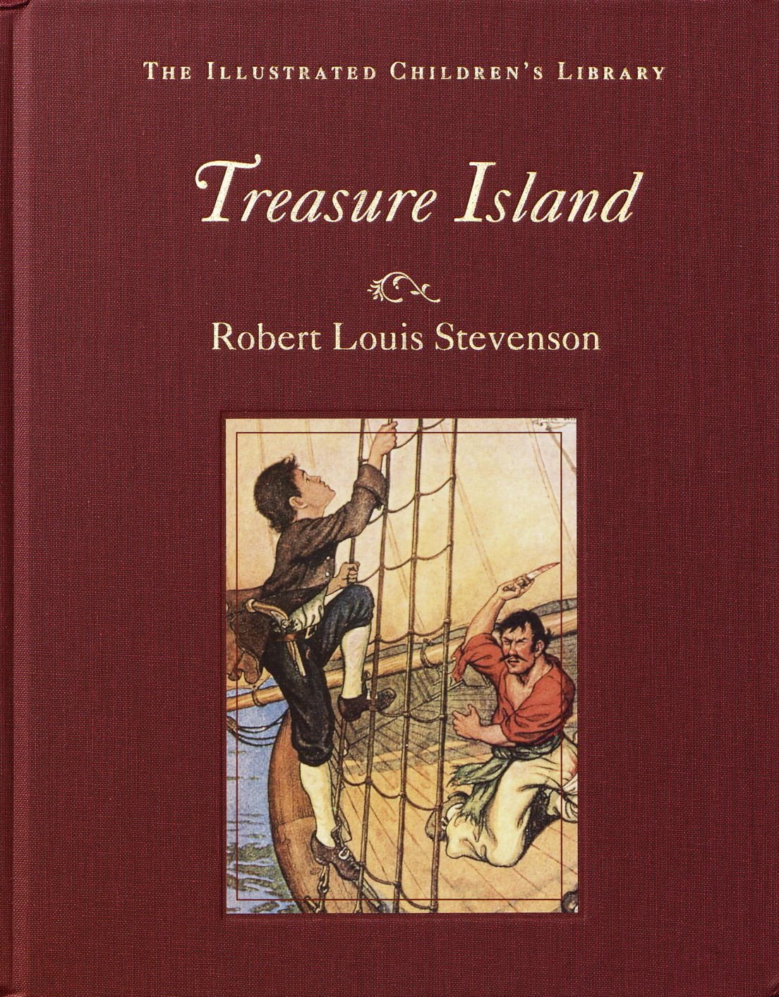 Treasure Island The Illustrated Children S Library By