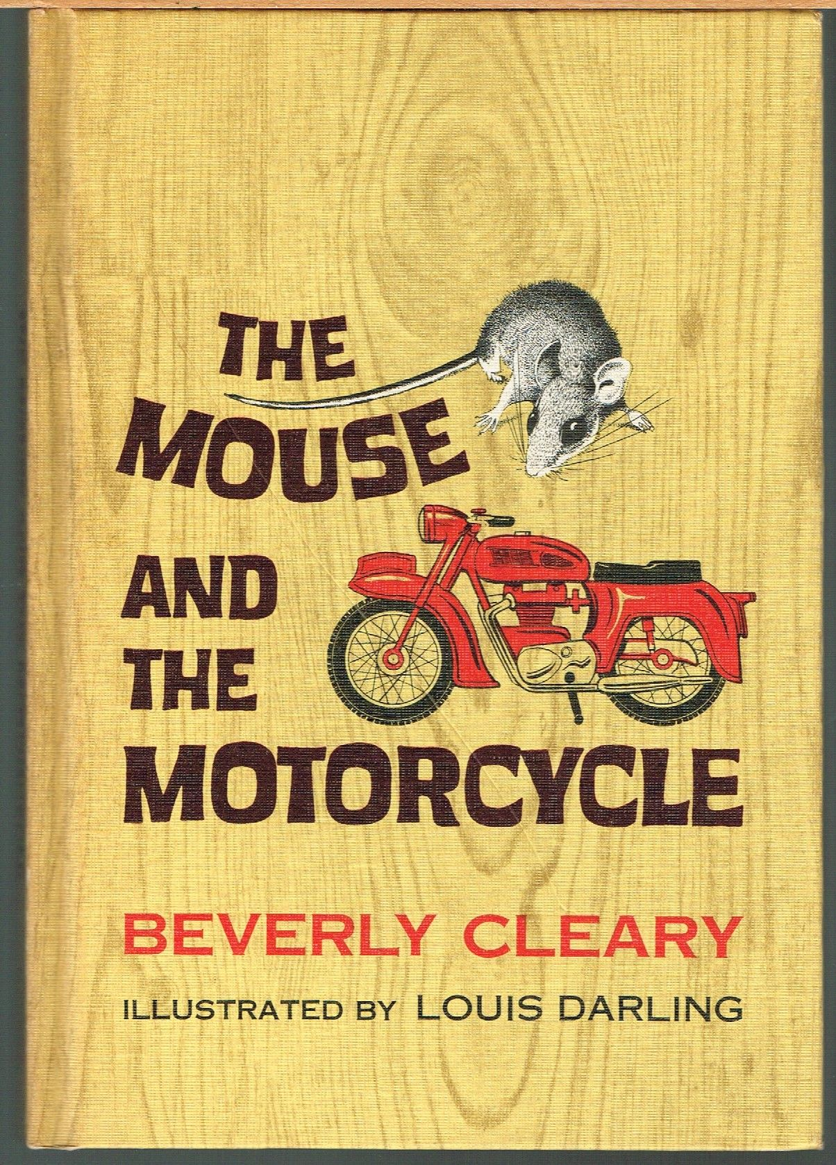 Mouse And The Motorcycle By Cleary Beverly Darling