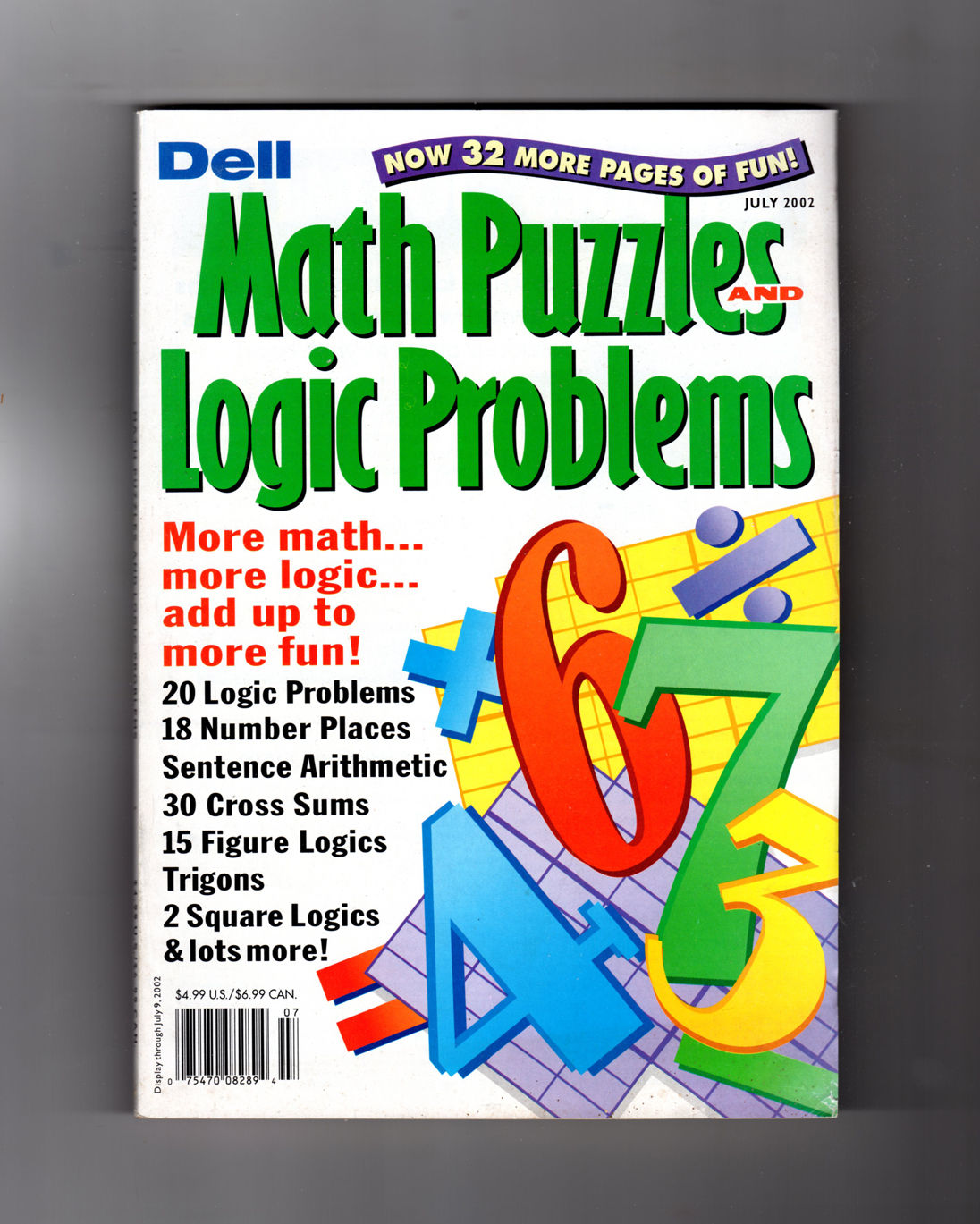 Dell Math Puzzles And Logic Problems