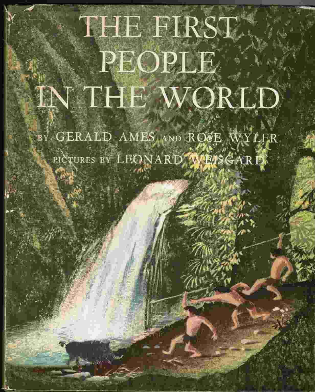 The First People In The World By Illustrator Gerald