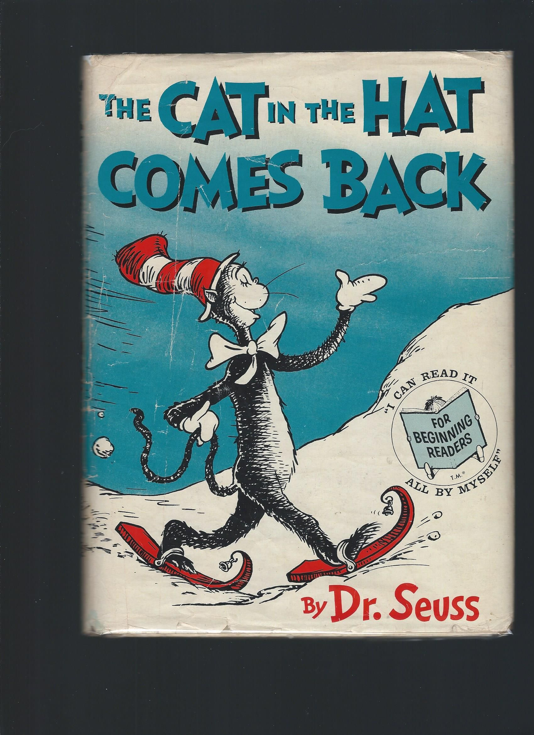The Cat In The Hat Comes Back By Seuss Dr
