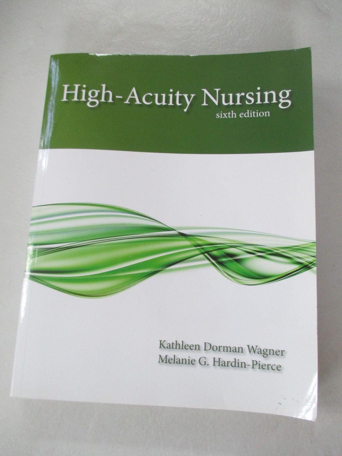 9780133026924 High Acuity Nursing 6th Edition By Karen Johnson