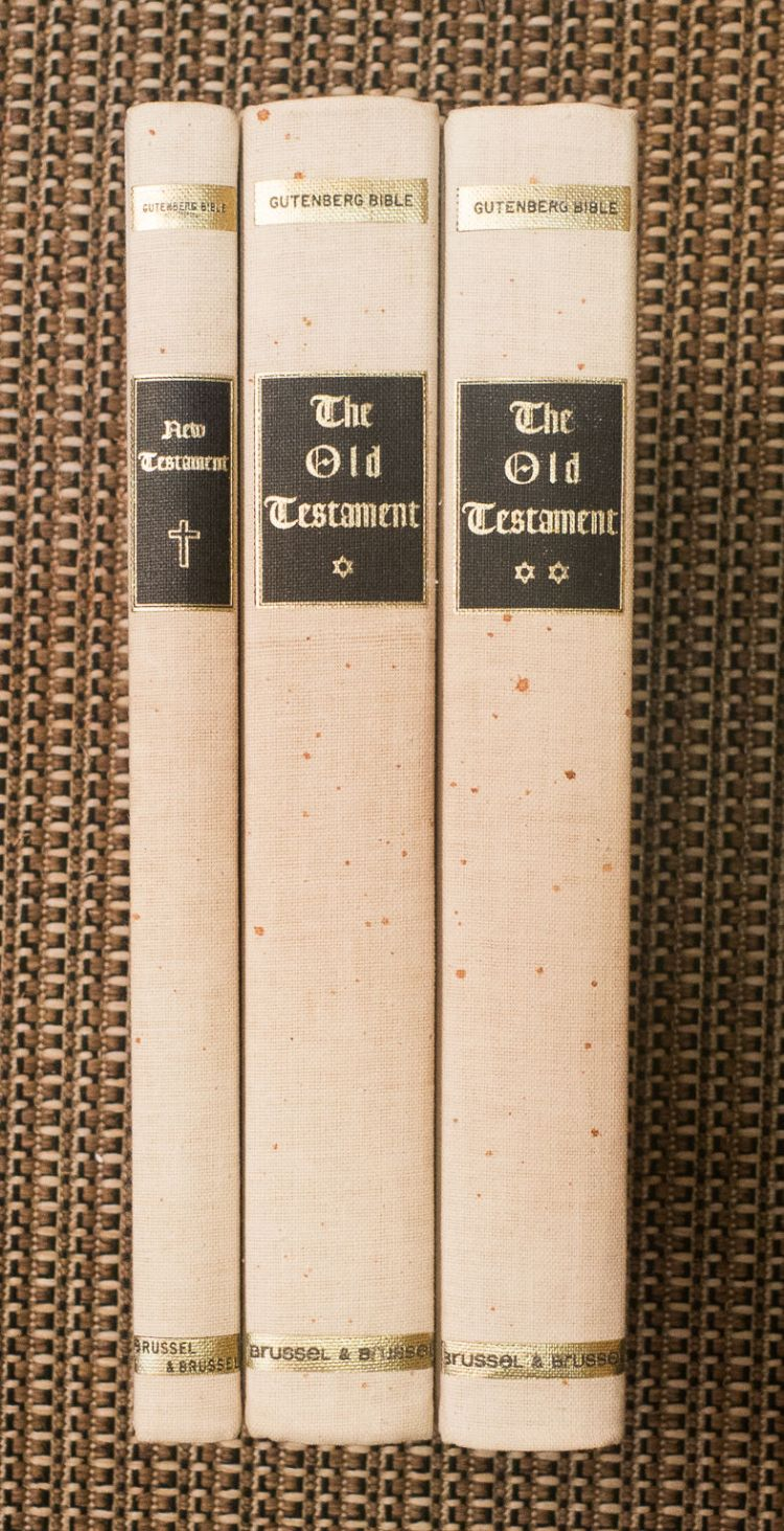 Gutenberg Bible by Johannes Gutenberg - Hardcover ...