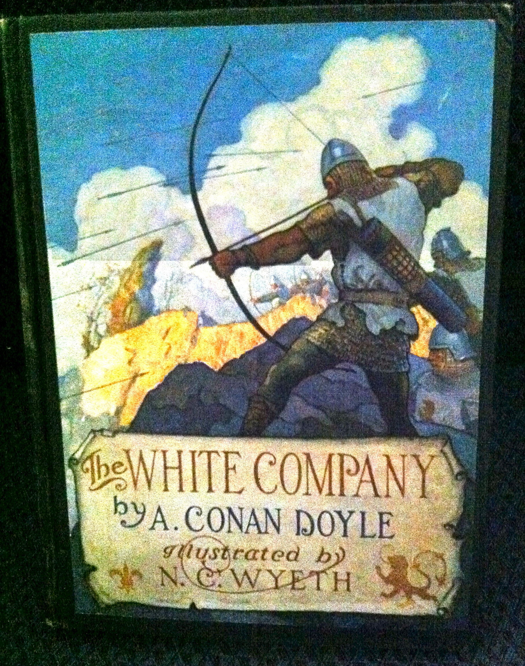 The White Company by Sir Arthur Conan Doyle - First Edition - 1922 Cosmopolitan Press - from civilizingbooks and Biblio.com