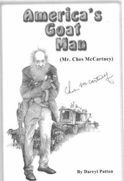 America's Goat Man (Mr. Ches McCartney) by Patton, Darryl