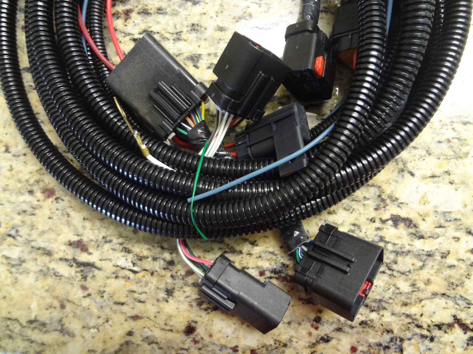 hight resolution of trailer tow wire harness kit with 7 way