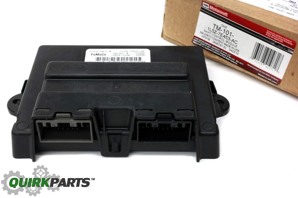 medium resolution of ford ranger explorer sport trac 4x4 transfer case shift control module oem tm101 ford 1l5z 7e453 ac quickparts
