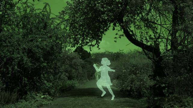 The ghost of a young girl at Greenbank Garden