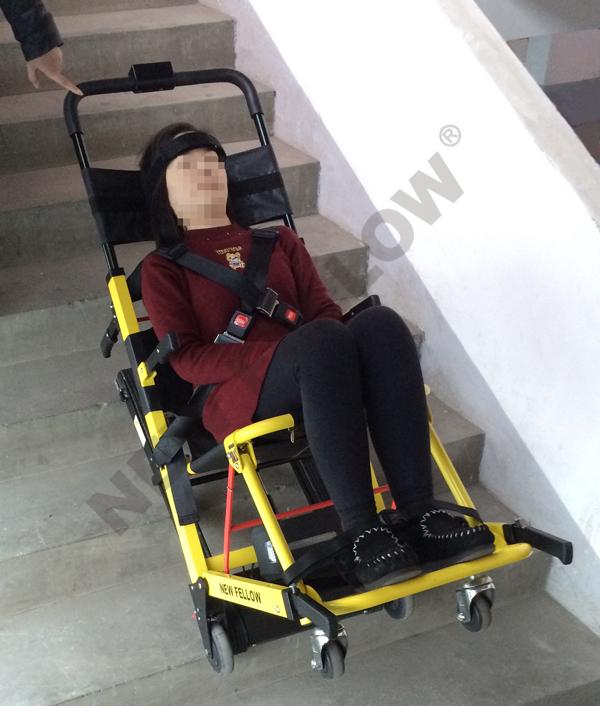 Electric Stair Climbing Chair  Evacuation Chair NFWD01  Zhangjiagang New Fellow Med Co Ltd