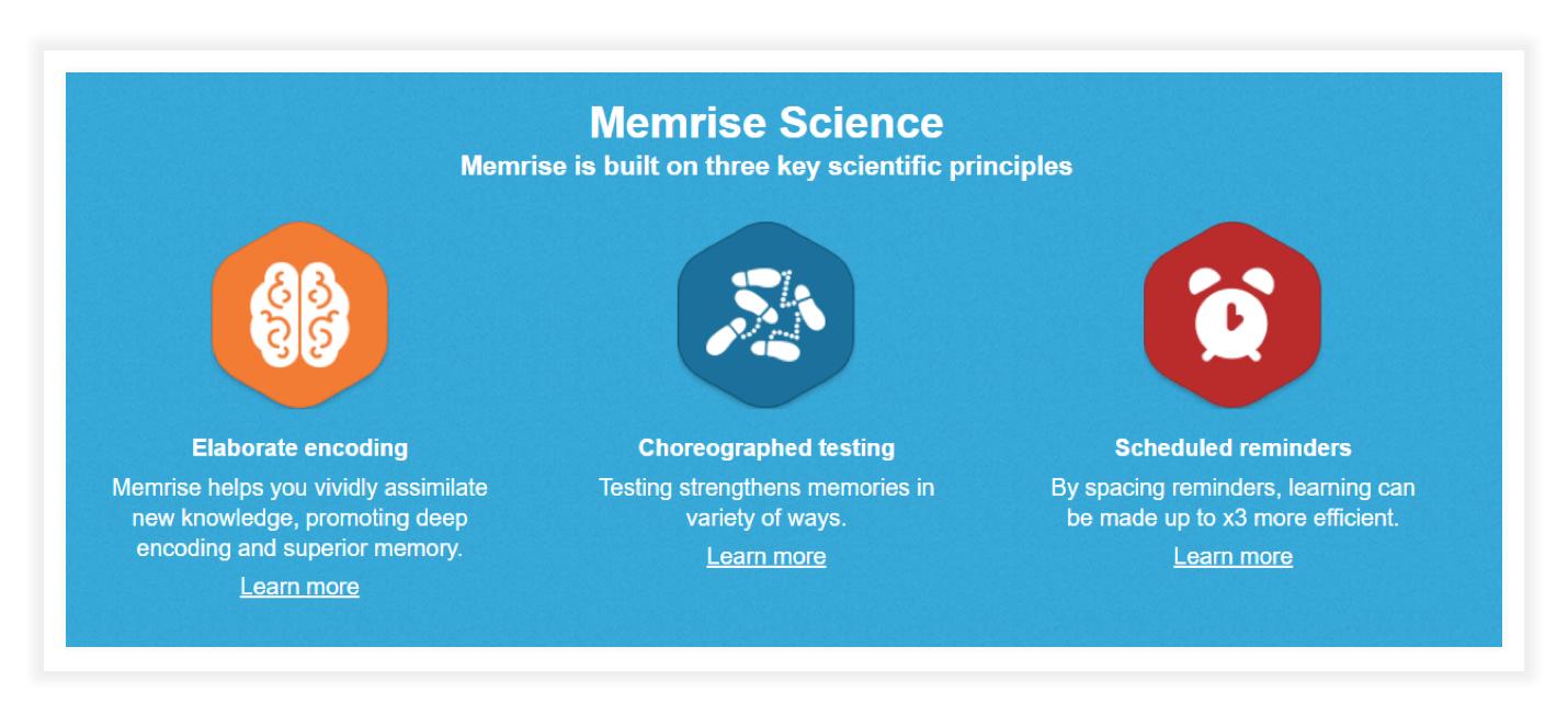 Memrise Science